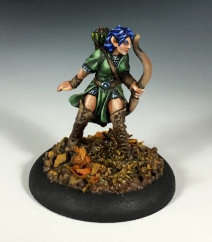 Female D&D Ranger
