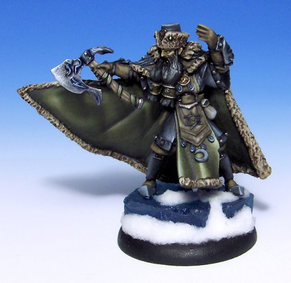 Warmachine Privateer Press Koldun Lord