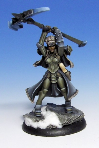 Kommander Sorcha Privateer Press Warmachine